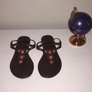 🌸 Beaded/Jeweled Sandals by NY & Co.